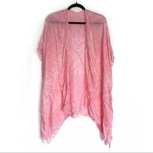 Contempo • Paisley Print Convertible Kimono